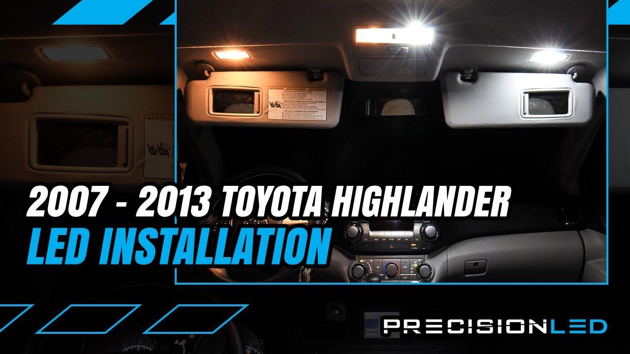 10 x Super Bright LED Interior Lights For 2001-2007 Toyota Highlander TOOL