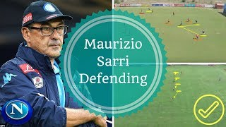 Video Maurizio Sarri Training   SSC Napoli Defending Positioning   Allenamento di Calcio Difensore download MP3, 3GP, MP4, WEBM, AVI, FLV Juli 2018