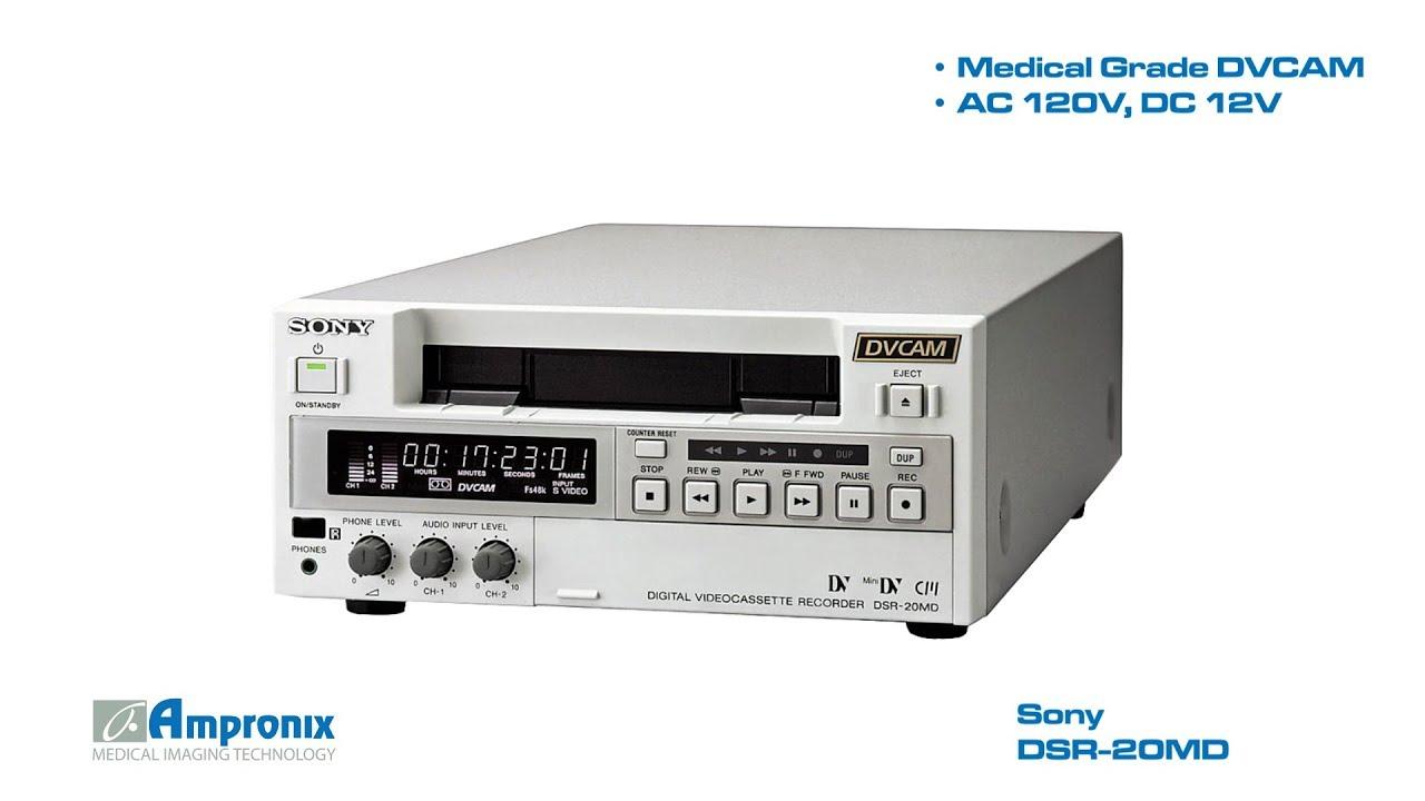 Sony Dsr 20md Medical Recorder Sales Service Repair Exchange