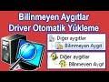 BILINMEYEN AYGITLAR DRIVER YUKLEME PC PROGRAMI