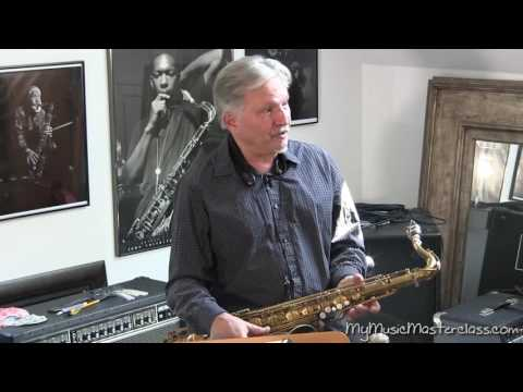 Jerry Bergonzi - Bebop Scale Lesson 2