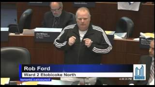 Rob Ford lectures John Tory on Taxis and Uber