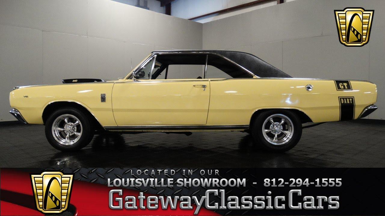 1967 Dodge Dart Gt Louisville Showroom Stock 1017 Youtube