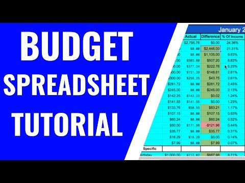 How To Make A Budget Spreadsheet | Google Sheets | Full Tutorial