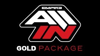 Empire ALL IN Paintball Sponsorship - GOLD PACKAGE