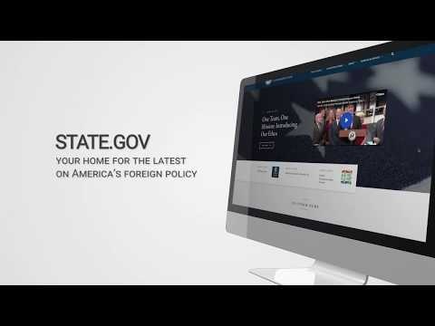 STATE.GOV:  Your Home For The Latest On America's Foreign Policy