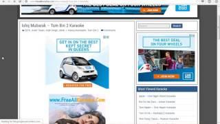 How To Download Karaoke - www FreeAllKaraoke com