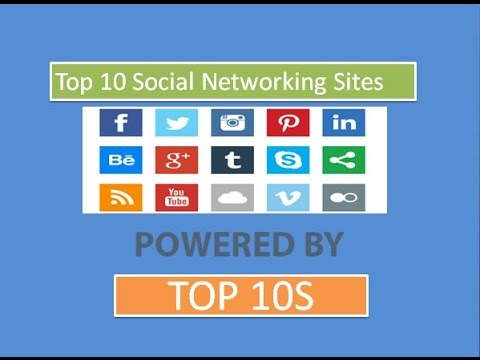 Top 10 Social Networking Sites -2016