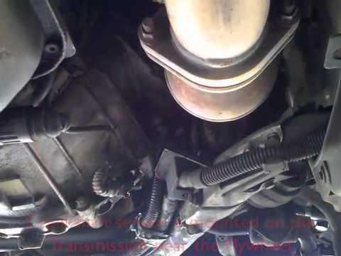 BMW E38 2000 Crankshaft sensor location