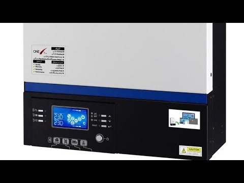 One X Inverter In Pakistan One X Solar And Hybrid Inverter 3 2 Kw And 5 2 Kw Pakistan Solar Tv Youtube