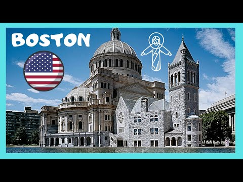 BOSTON: THE FASCINATING BUILDING ⛪ OF THE CHRISTIAN SCIENCE CHURCH (USA)