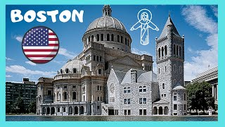 BOSTON: The fascinating building of THE CHRISTIAN SCIENCE CHURCH (USA)