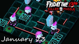 Friday the 13th Killer Puzzle Daily Death January 23 2021 Walkthrough
