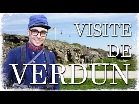 Visite de VERDUN : Fort de Douaoumont / Butte de Vauquois / Fort de Souville