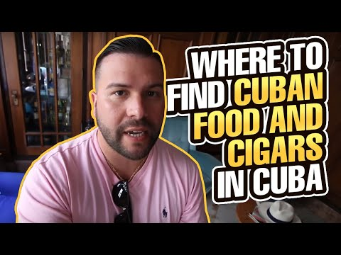 Where to Find Cuban Food and Cigars in Cuba