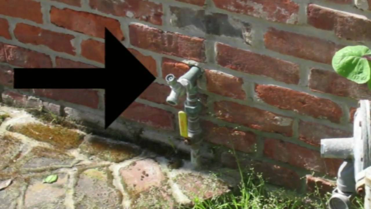 Front Yard Key Type Hose Bib - Home Plumbing Ideas - YouTube