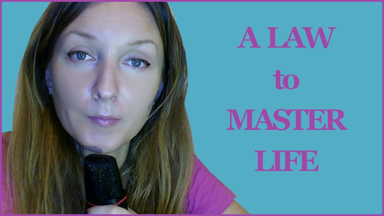 A Spiritual Law to Be the Master of Your Life - Simona Rich