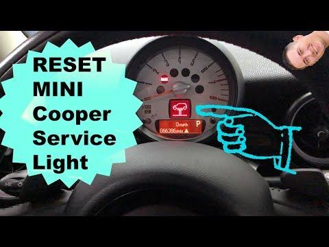 How To Reset MINI Service Light (06-13)