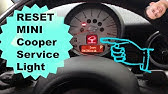 Mini Cooper Reset Service Indicator Procedure Youtube
