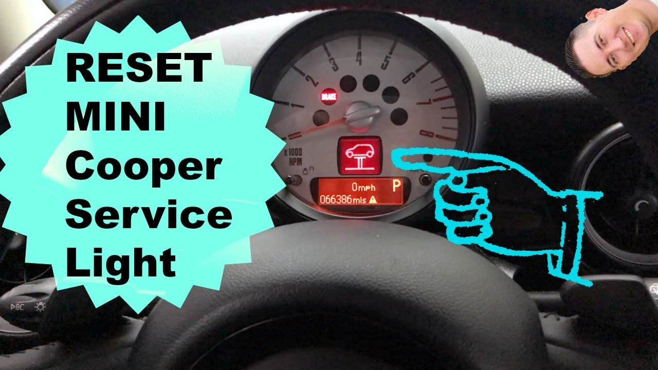 How To Reset Mini Service Light 06 13 Youtube