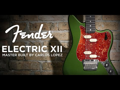 Fender Electric XII Master Built By Carlos Lopez | CME Gear Demo | Nathaniel Murphy