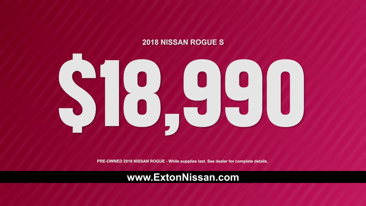 Exton Nissan Serving West Chester Concordville Wayne PA with
