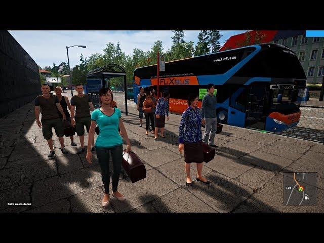 Fernbus Simulator | Nueva Actualización 1.18 | Bus Doble Piso Neoplan Skyliner