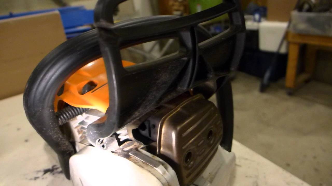 Stihl 241 and 362 muffler mods - Video - ViLOOK
