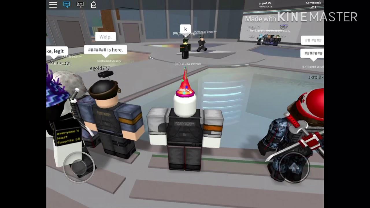 Roblox Innovation Security Training I Met Rolijok Youtube