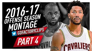 Derrick Rose CRAZY Offense Highlights Montage 2016/2017 (Final Part) - Welcome to the Cavaliers!