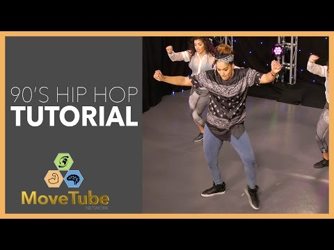 "90's Hip Hop Dance Tutorial to Chubb Rock's ""Treat 'Em Right"""