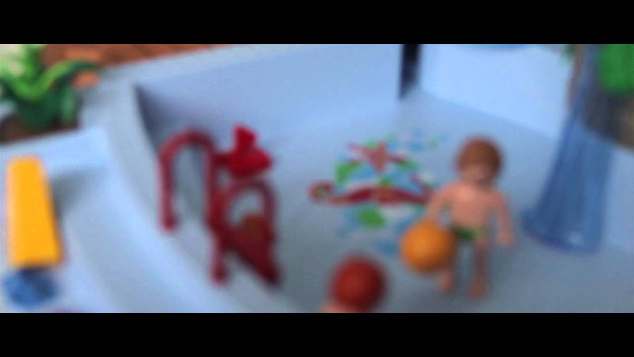 Playmobil la piscine du touquet version ncis youtube for Piscine playmobil