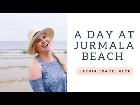 A Day at Jurmala Beach! - Riga, Latvia Travel Vlog