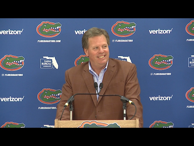 National Signing Day: Jim McElwain Press Conference 2-1-17
