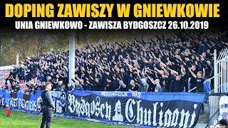 DOPING ZAWISZY: Unia Gniewkowo – Zawisza Bydgoszcz 26.10.2019