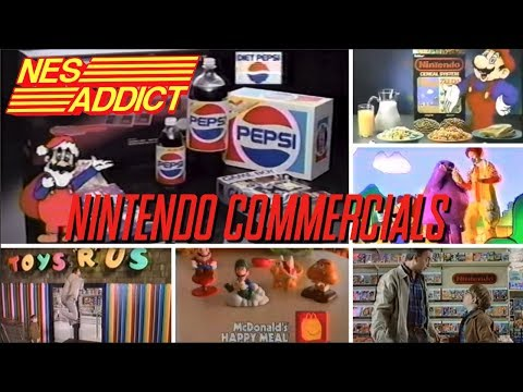 NINTENDO COMMERCIALS FROM TOYS R US, McDONALDS, PEPSI, AND RALSTON  | NES ADDICT