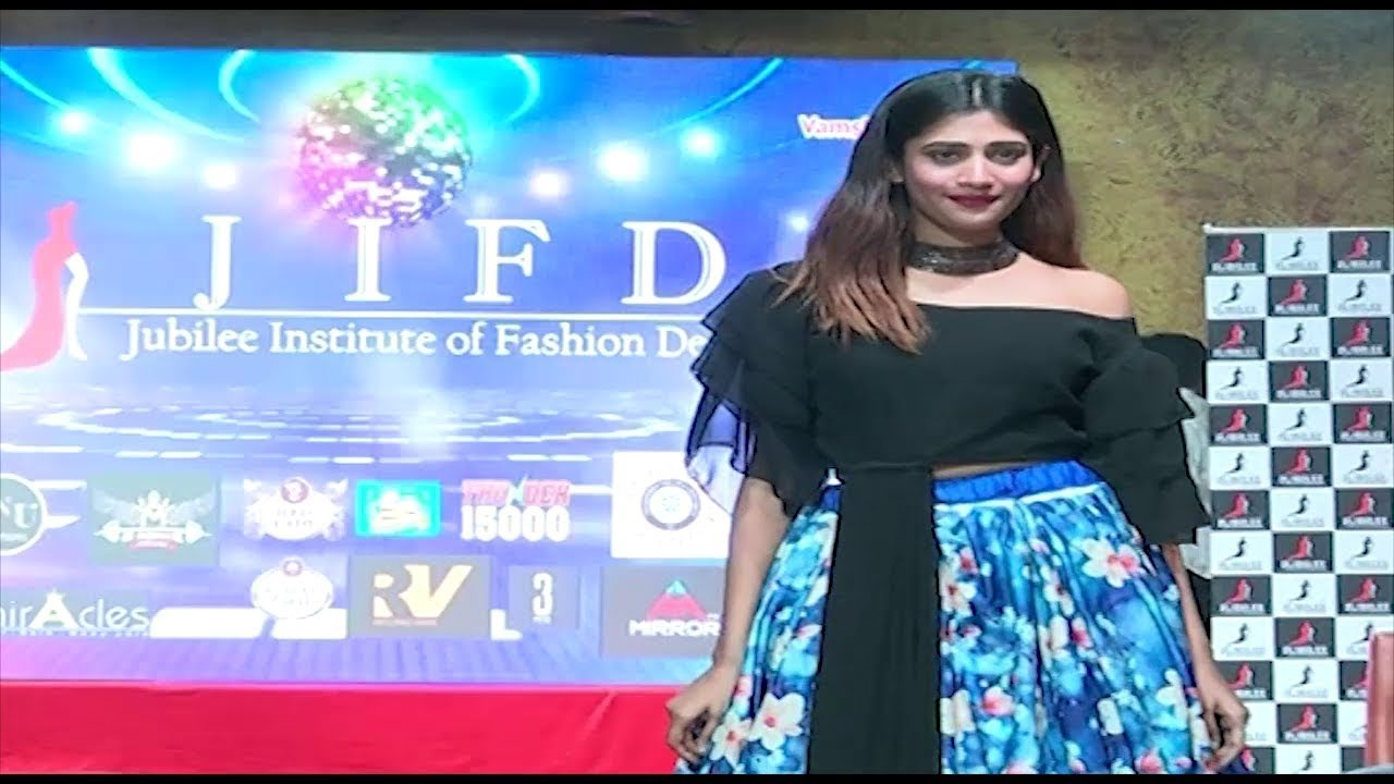Jubilee Institute Of Fashion Design Hyderabad Telangana Jifd Fashion Show Tv5 News Youtube
