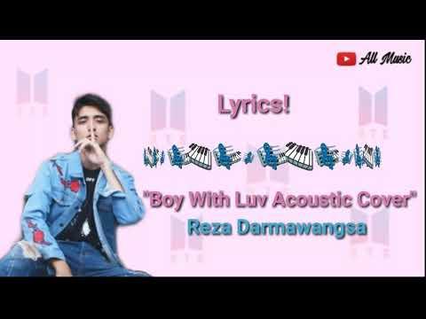 lyrics!-boy-with-luv-acoustic-cover-reza-darmawangsa