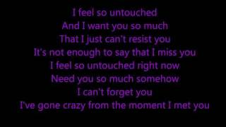 Untouched - The Veronicas w/ lyrics