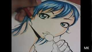 Drawing W/MK Prismacolor Pencils and Odorless Mineral Spirits