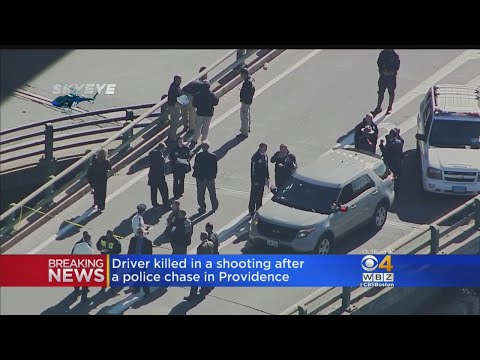 Driver Killed In Shooting After A Police Chase In Providence