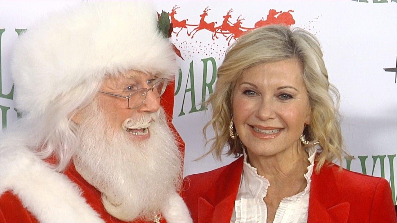 olivia newton john 85th annual hollywood christmas parade red carpet - Olivia Newton John This Christmas