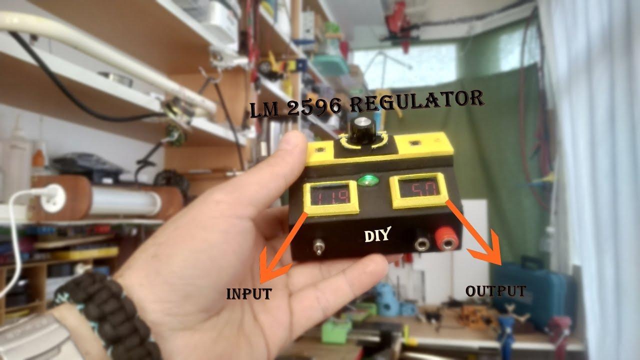 Diy Simple Mini Lab Bench Power Supply Dc-dc 3a