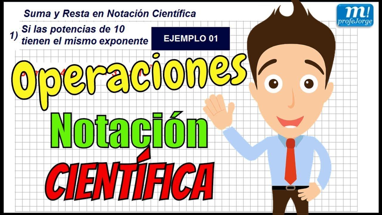 ejercicios de notacion cientifica pdf 2 eso