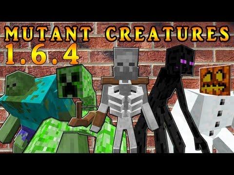 Mutant Creatures MOD Minecraft: ¡¡¡GUERRA DE MUTANTES¡¡¡