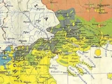 Macedonians on The Old Maps (Original Documents)