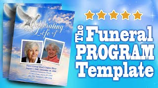 Funeral Programs with Funeral Program Templates