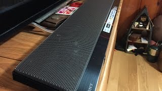 Sony HTNT5 Wireless Sound Bar Unboxing