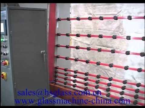 Download Hiseng Glass Sand Blasting Machine   sales@hsglass.com.cn