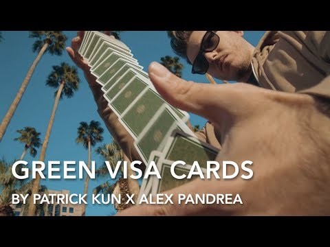 FREE Amazing Card Tricks with Green Visa Playing Cards | Patrick Kun